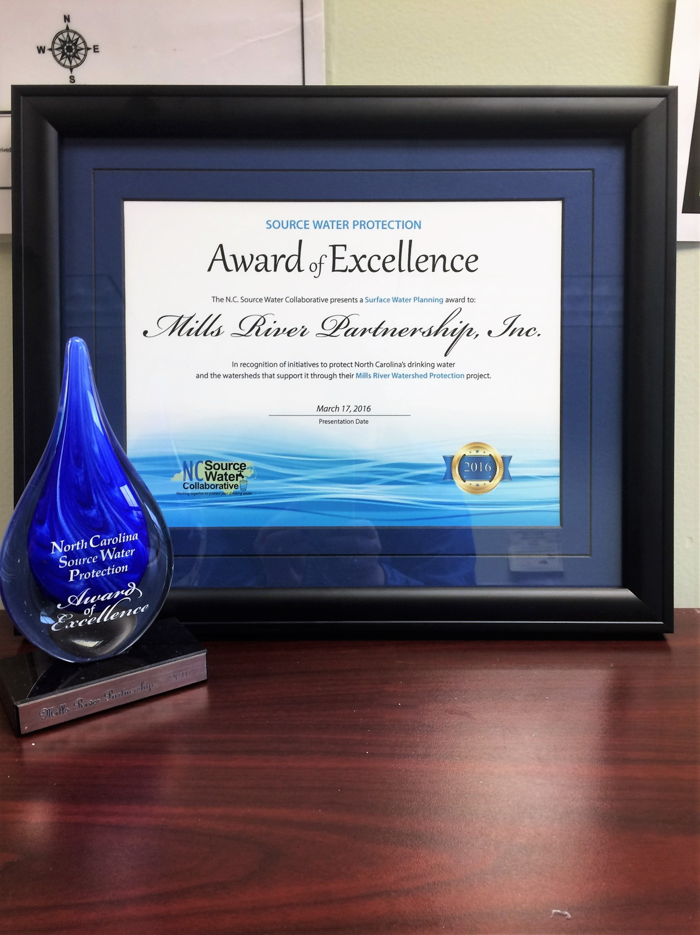 Award of Excellence for Mills River Partnership