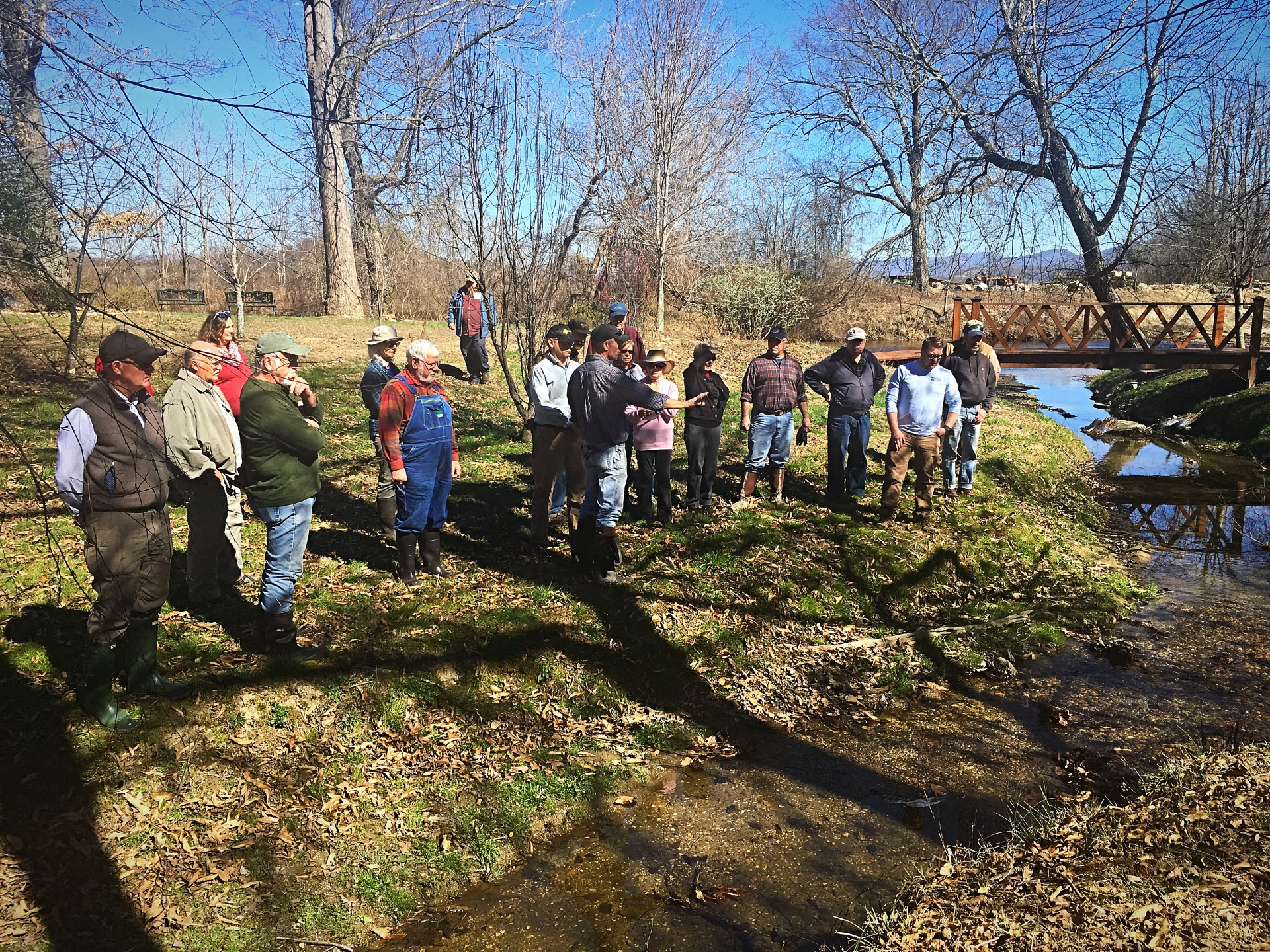'Backyard Stream Repair' Workshop