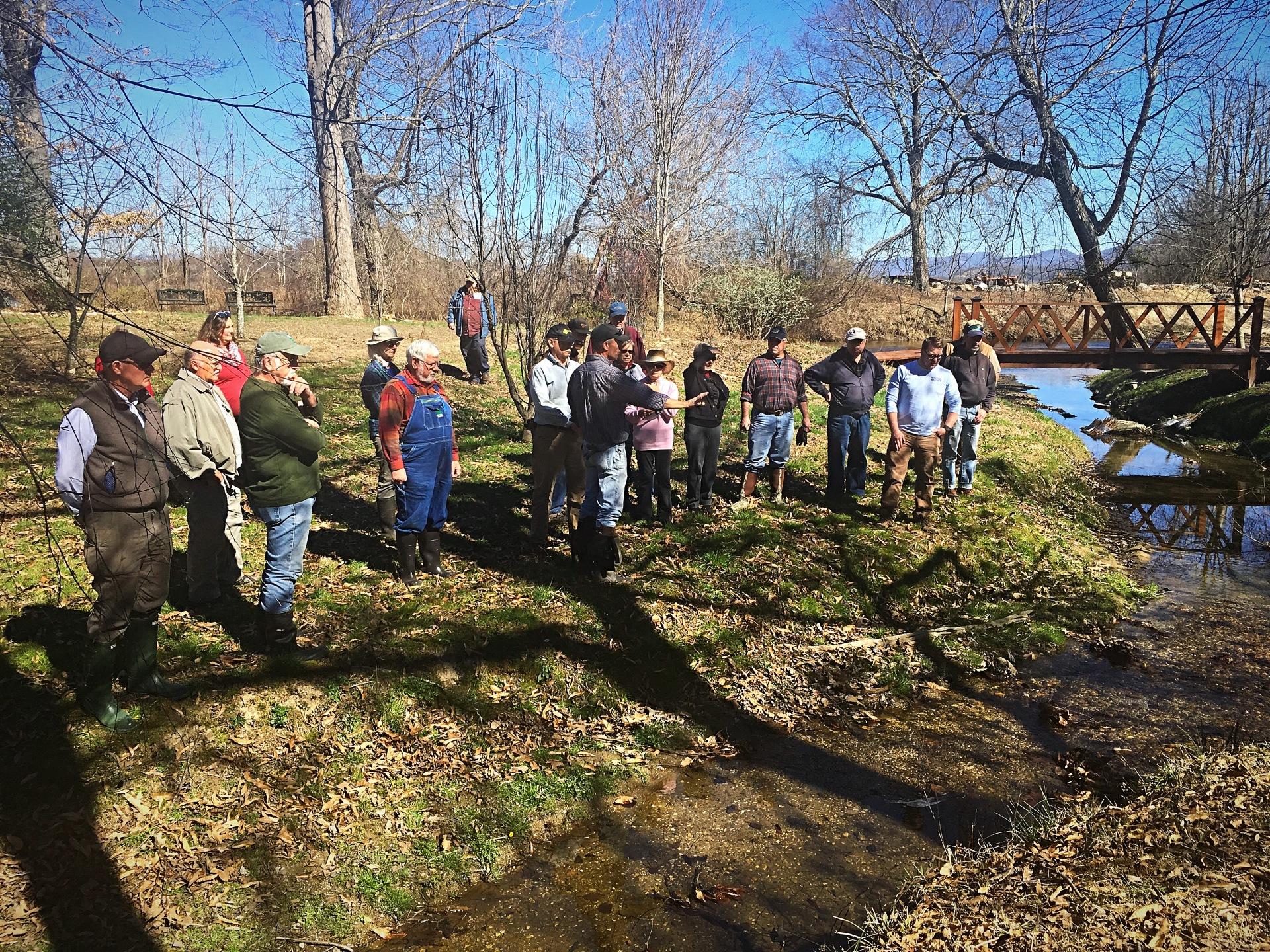 'Backyard Stream Repair' Workshop