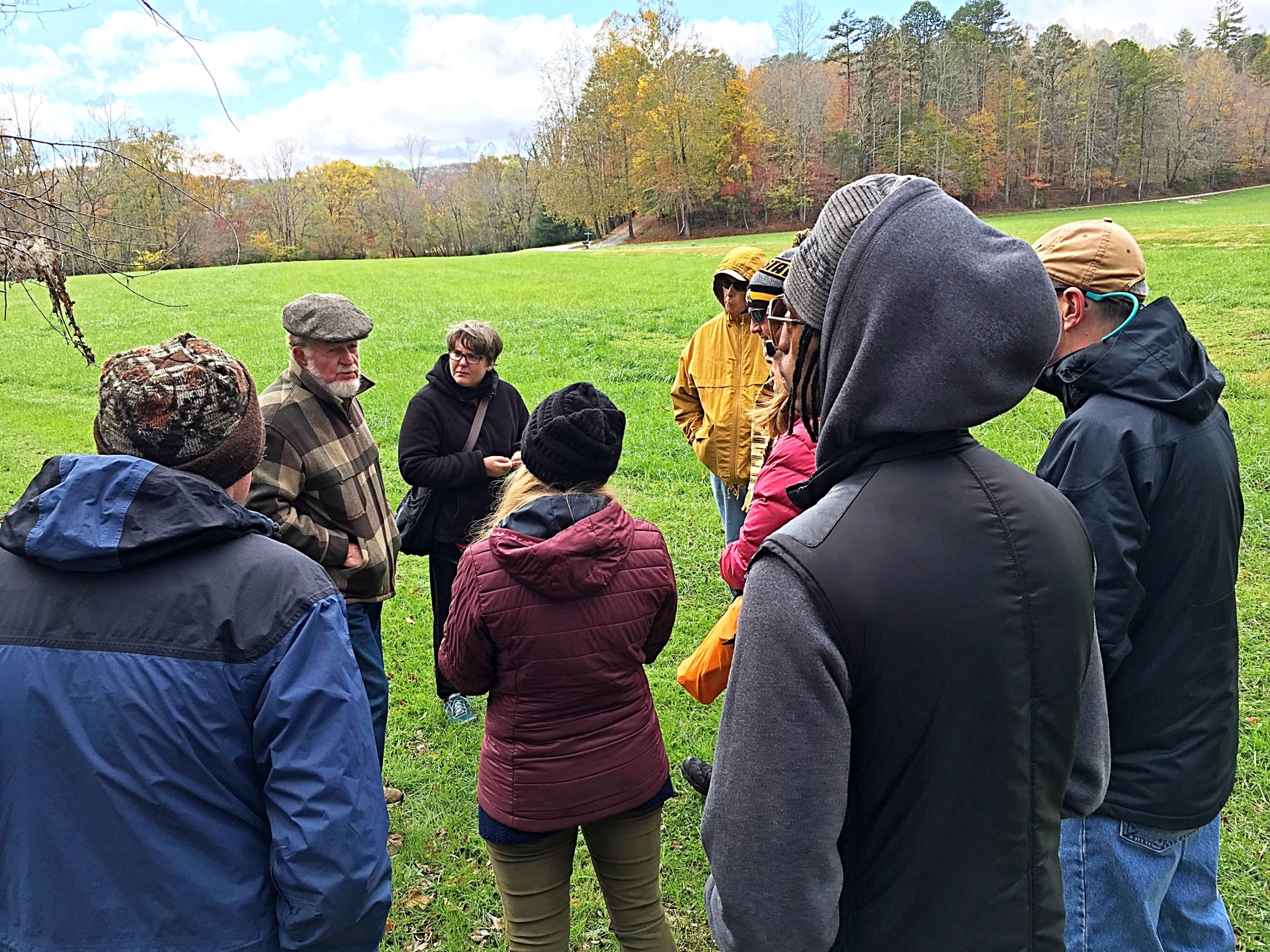 Upper South Mills River Heritage Corridor Walking Tour w/ Jere Brittain