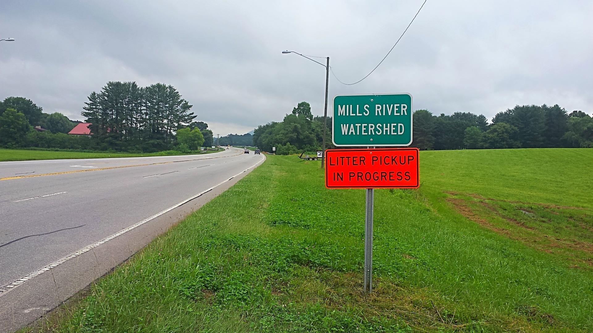 Mills River Litter Crew