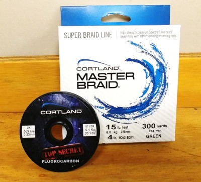 Cortland Top Secret Leader Material & TFO Rods ... They get the job done!!!