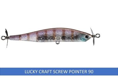 Lucky Craft Screw Pointer & Keitech Baits... Bass Love Em