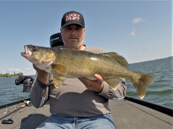 Lake Ontario Walleye & Muskie Are Biting Right Now