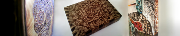 Pyrography Gallery Banner Teq Tantrum