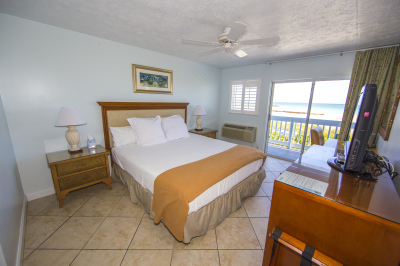 Direct Oceanfront with King Bed