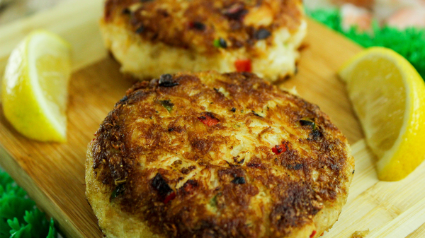 Crabcakes made from scratch