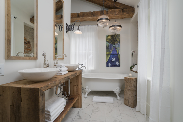 The Chelsea ~ Large European Bathroom with Separate Shower