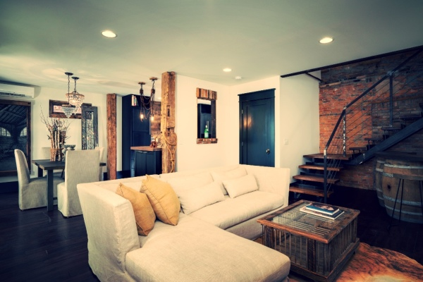 The Chelsea ~ Open Living/Dining Area