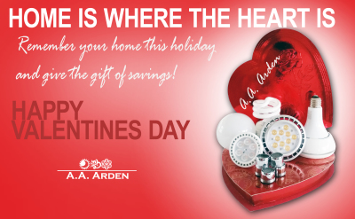 Give your home the gift of savings for Valentines