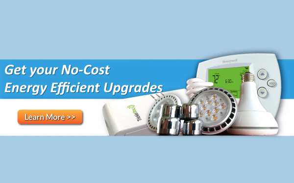 Home energy assessment audit free lighting upgrades power strips low flow shower heads