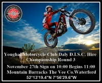 Daly D.I.S.C. Hire Club Championship Round 3