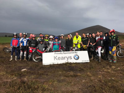 Kearys Motorrad Trials Championship Round 1