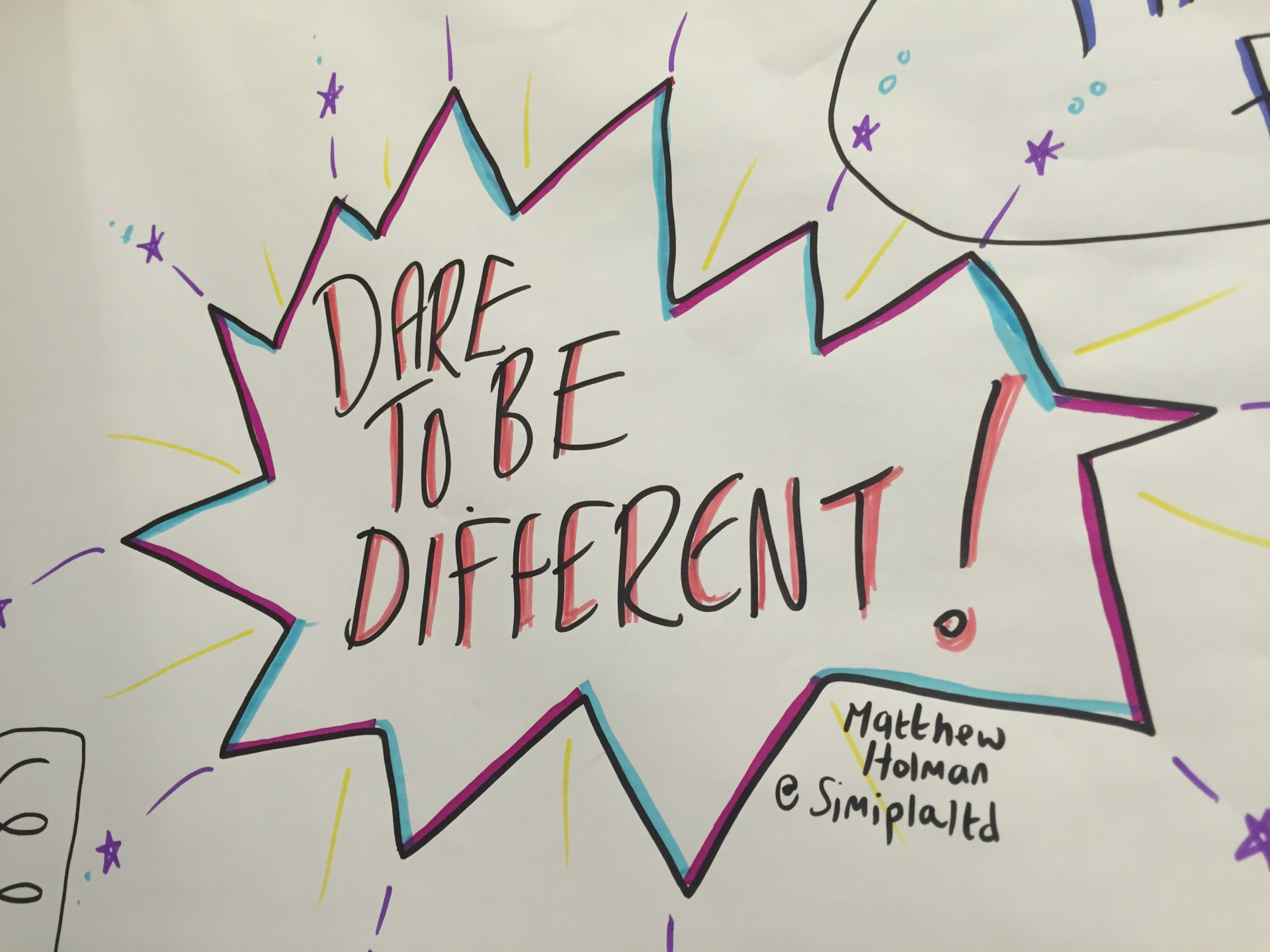 DaRe To Be DiFfErEnT!