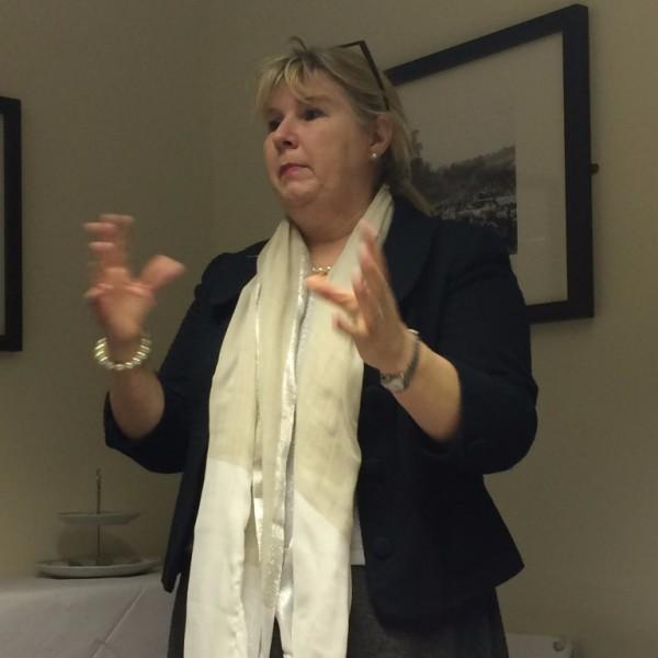 BID Presentation by Sharon Baldwin at February Meeting