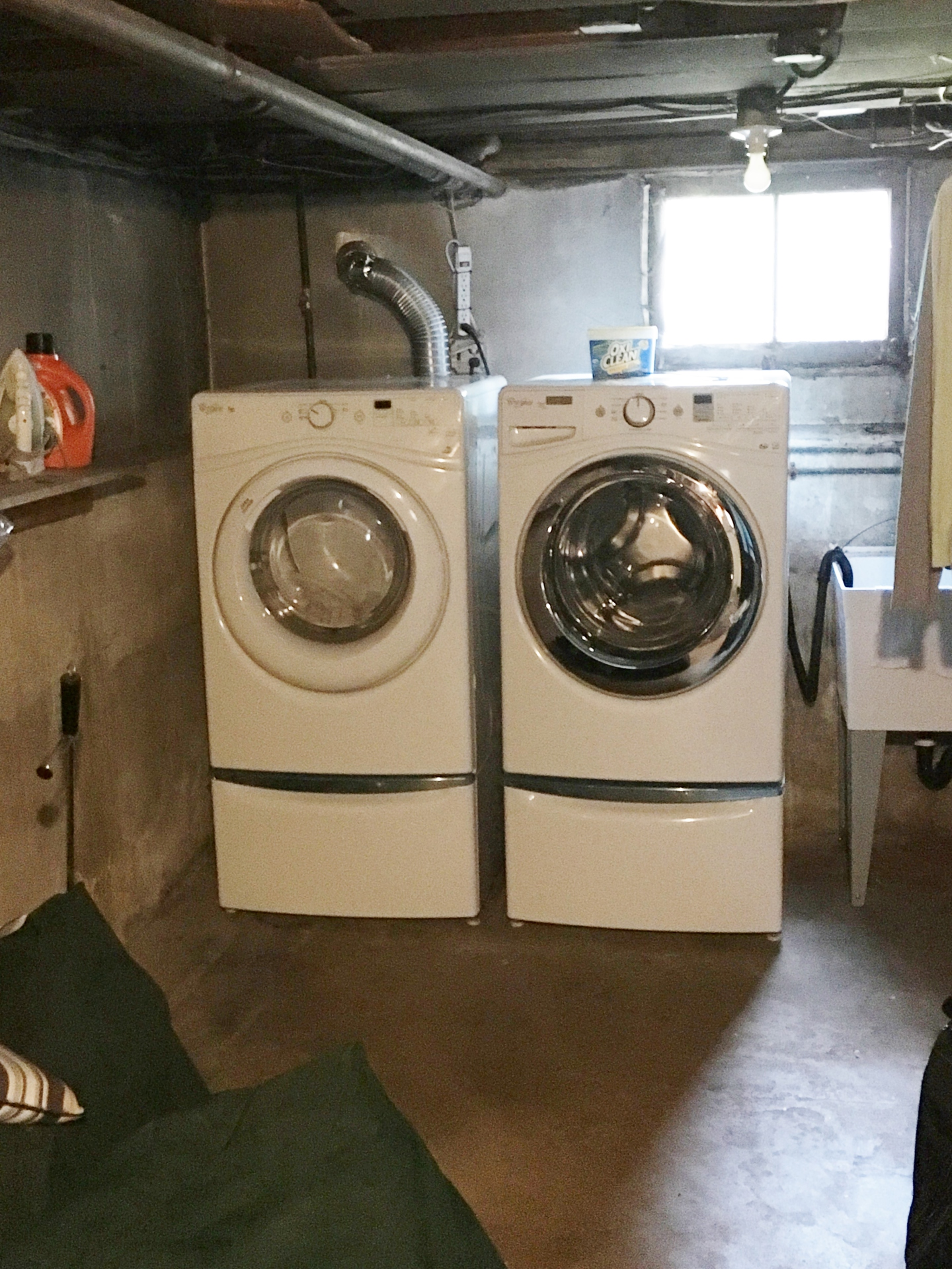 Washer Washer on the wall - choosing a washer and dryer