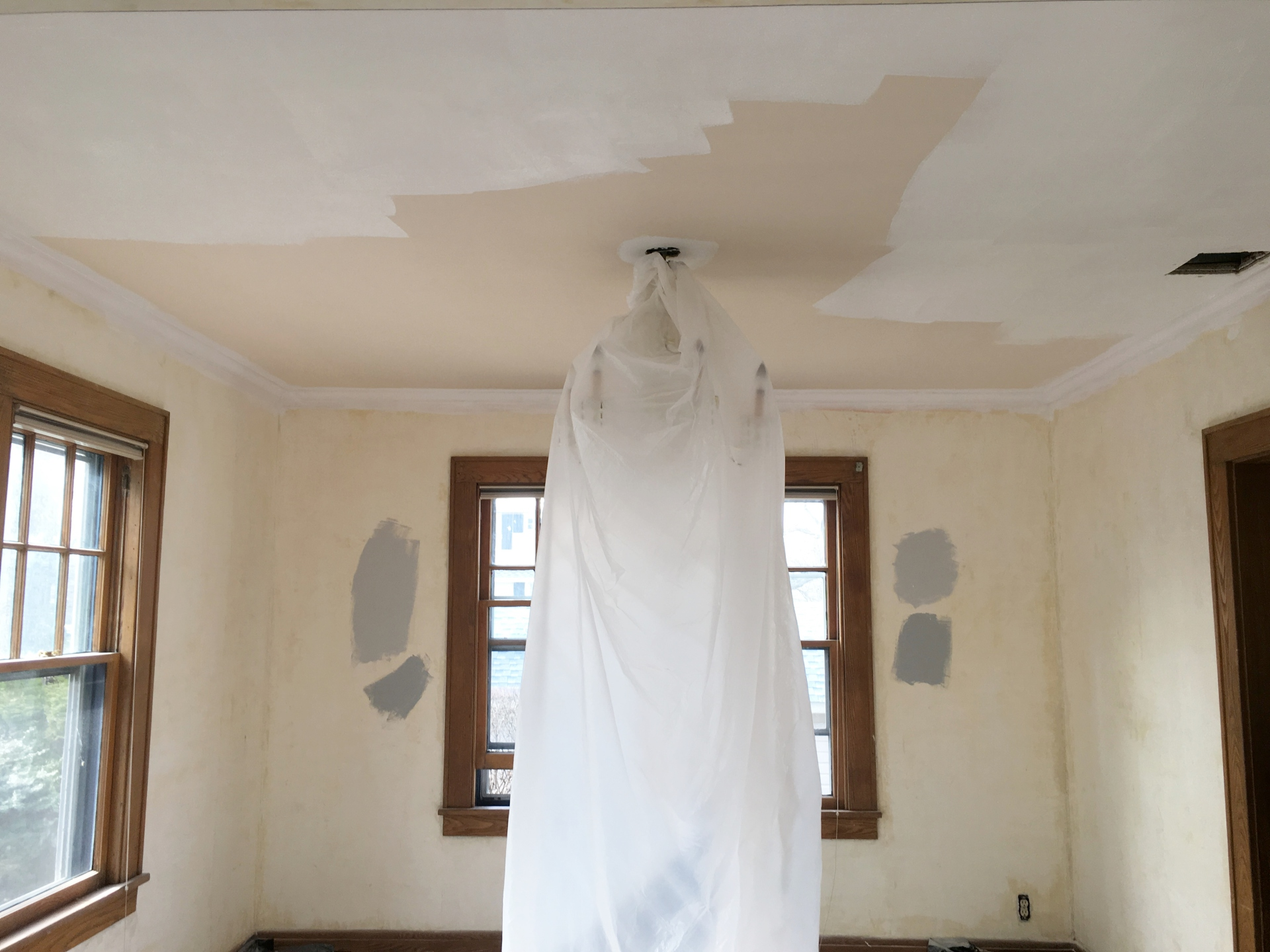 White White Baby - painting ceilings