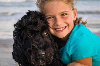 Children portraits at the beach and parks
