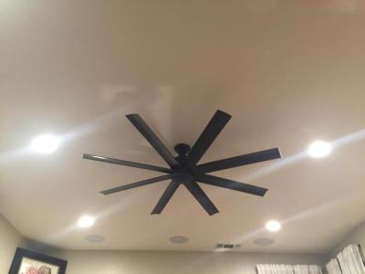 Home Surround Sound Fan Installation