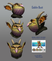 Forest Goblin Bust