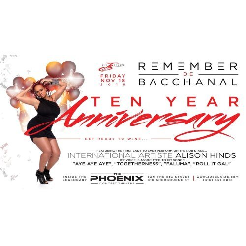 LAST WEEK FOR GIVE AWAYS [REMEMBER DE BACCHANAL]