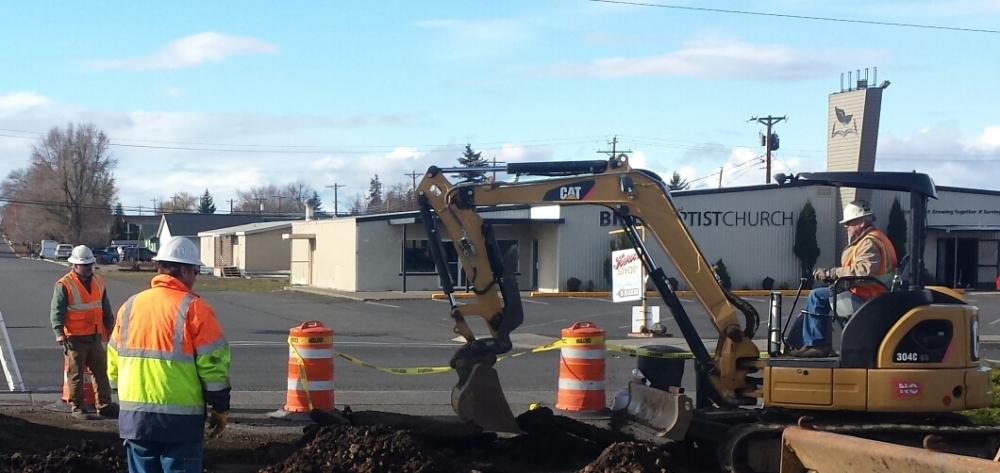 Excavation, Goldendale, WA