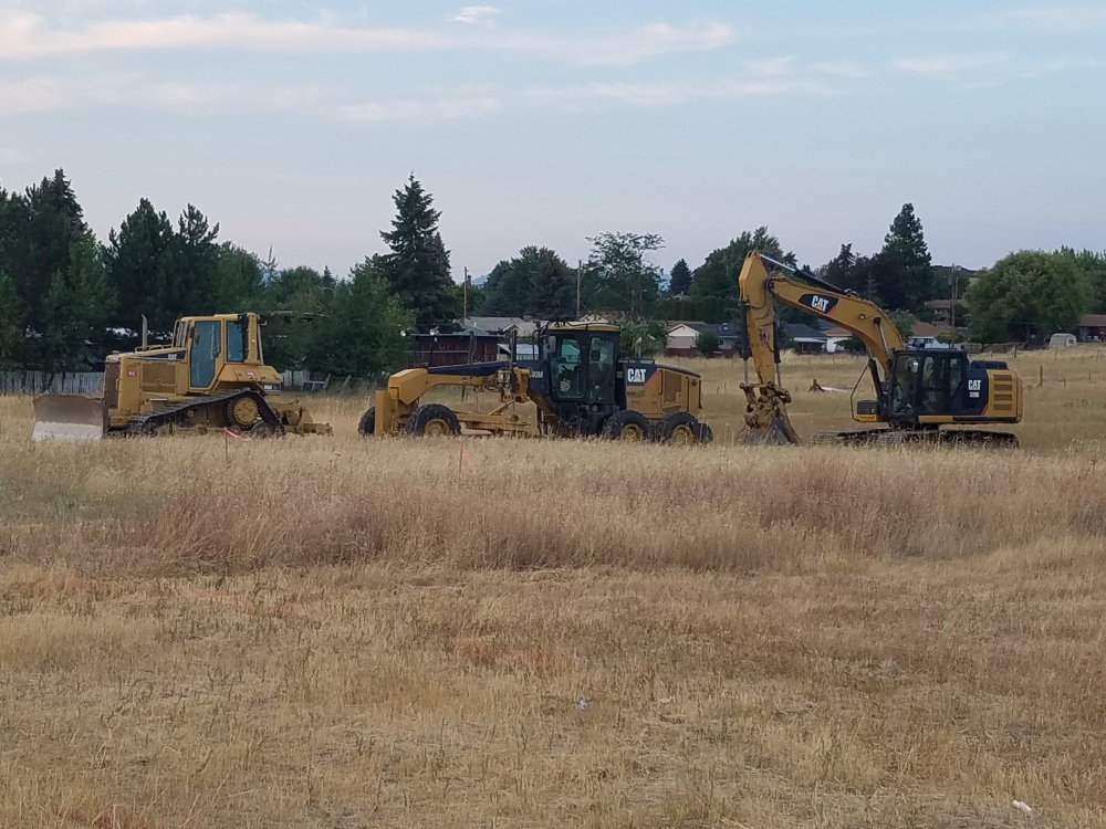 Excavation, Goldendale, WA
