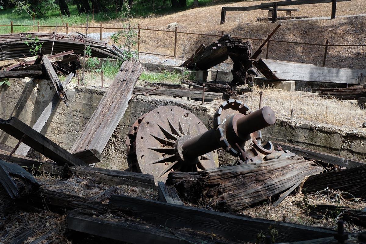 Kennedy Mine Tailing Wheel #