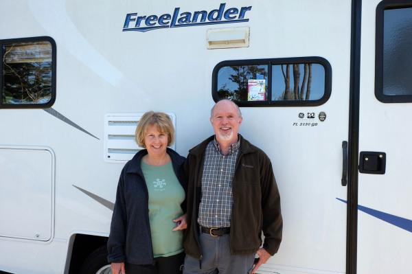 Julie Cade and Bruce Bon