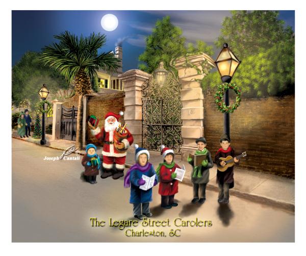 Lagare Street Carolers Charleston, SC