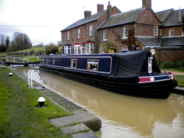 Top Lock at Braunston