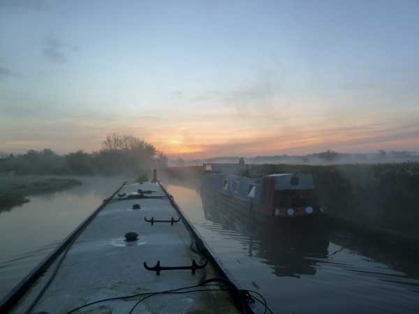 Morning has broken, Newbold, Oxford Canal