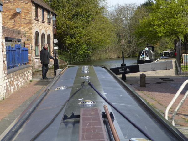 Operating Sidbury Lock on the Worcester Birmingham Canal