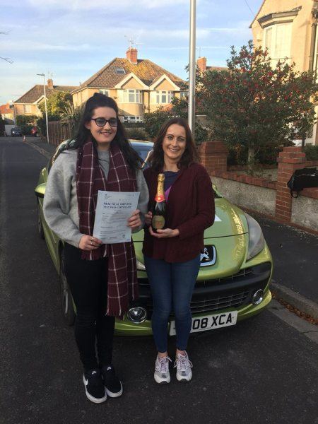 Lilli Passes With A Line Driving School 2nd November 2016