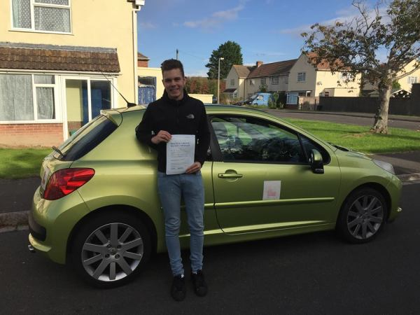 Jack Passes With A Line Driving School 17th October 2016