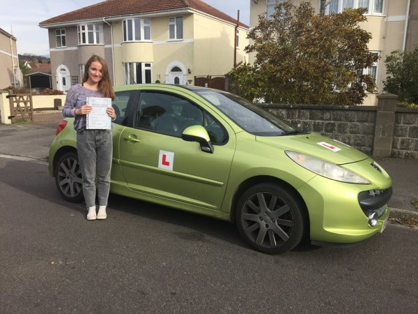Alice Passes With A Line Driving School 3rd November 2016