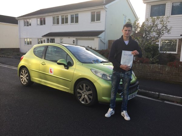 Kilian Passes With A Line Driving School 9th November 2016