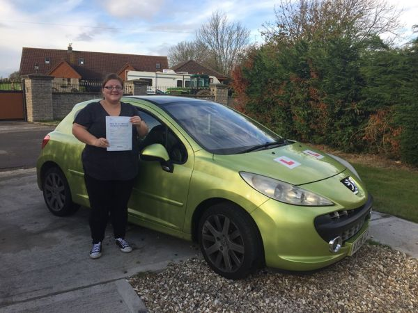 Lucy Passed With A Line Driving School 9th November 2016