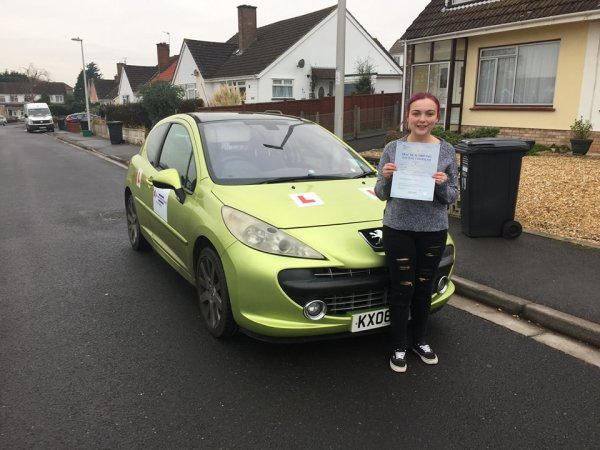 Congratulations To Katie Passed 2nd December 2016 With A Line Driving School