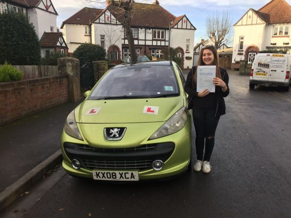 Brooke Passed Her Test Today With A Line Driving School