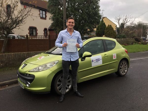 Lewis Passed With Aline Driving School Today