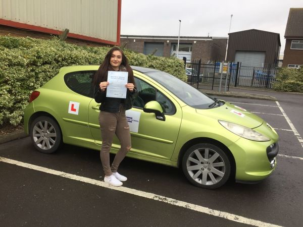 Lucy Passed Today With A Line Driving School