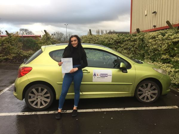 Poppy Passed Today With A Line Driving School