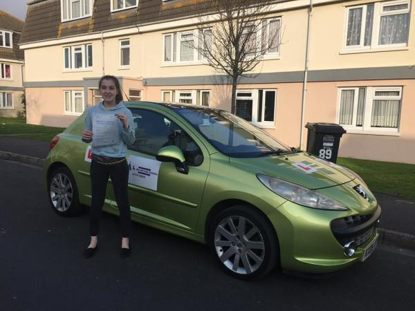 Gemma Passed Her Driving Test Today With A Line Driving School