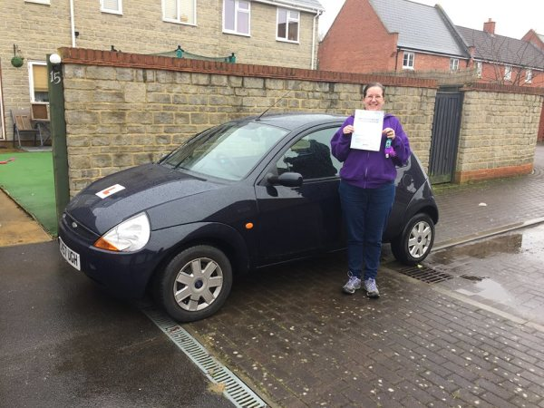 Jazmine Passes Today 15th February 2017 With A Line Driving School