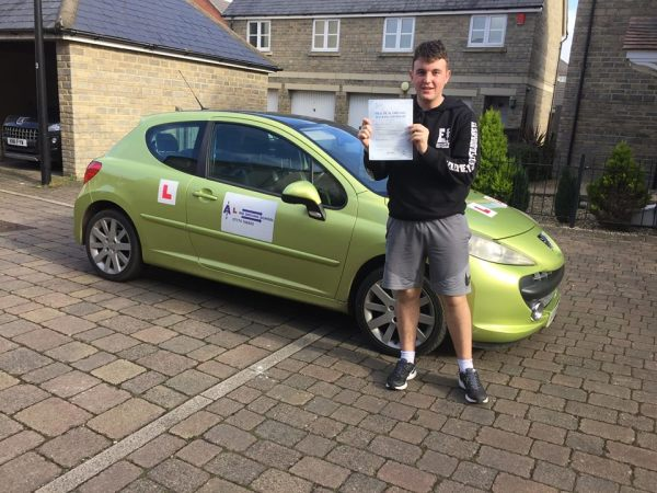 Ian Passes Today, 23rd February 2017, With A Line Driving School