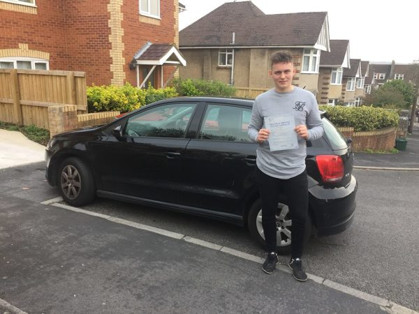 Nick Passes His Driving Test Today, 24th March 2017, With A Line Driving School