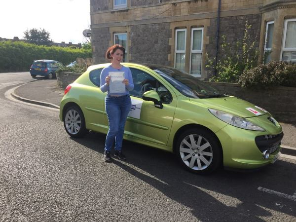 April Passes Her Driving Test Today, 25th April 2017, With A Line Driving School
