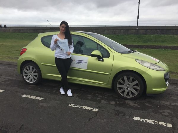 Marijana Passes Her Driving Test Today, 15th May 2017, With A Line Driving School