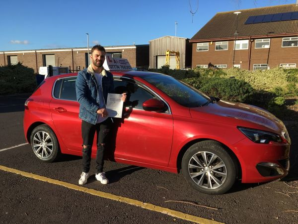 Whoop Whoop...A MASSIVE Congratulations to Ben, who Passed his Driving Test today...1st time and...with only 5 minors!! I'm so happy for you! Take Care and... I'll see you on the road! 😀👍🚙